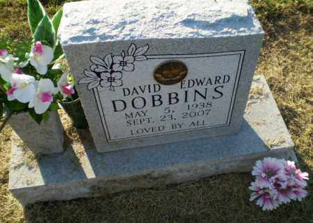 DOBBINS, DAVID EDWARD - Clay County, Arkansas | DAVID EDWARD DOBBINS - Arkansas Gravestone Photos