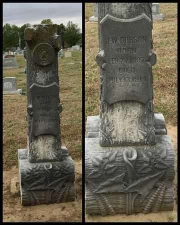DOBSON, J.W. - Clay County, Arkansas | J.W. DOBSON - Arkansas Gravestone Photos