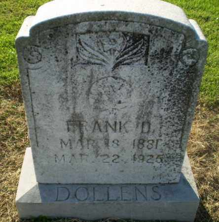 DOLLENS, FRANK D - Clay County, Arkansas   FRANK D DOLLENS - Arkansas Gravestone Photos