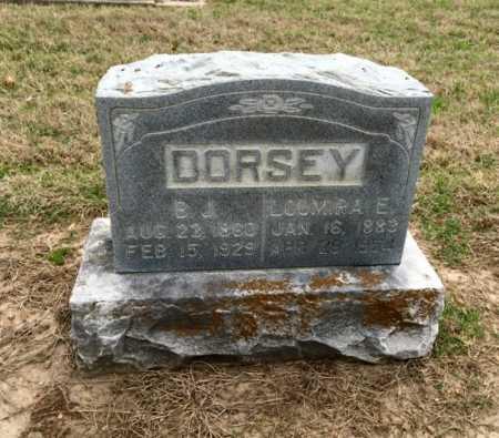 DORSEY, B J - Clay County, Arkansas   B J DORSEY - Arkansas Gravestone Photos