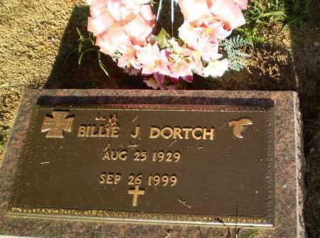 DORTCH, BILLIE J - Clay County, Arkansas   BILLIE J DORTCH - Arkansas Gravestone Photos