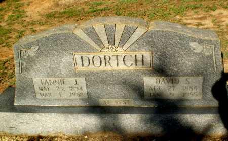 DORTCH, FANNIE J - Clay County, Arkansas | FANNIE J DORTCH - Arkansas Gravestone Photos