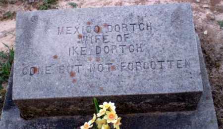 DORTCH, MEXICO - Clay County, Arkansas | MEXICO DORTCH - Arkansas Gravestone Photos