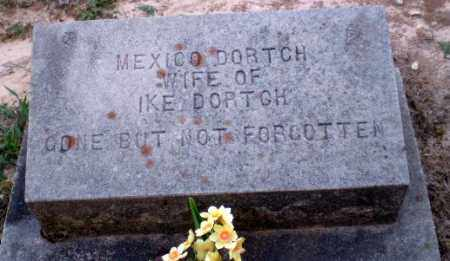 DORTCH, MEXICO - Clay County, Arkansas | MEXICO DORTCH - Arkansas Gravestone Photos