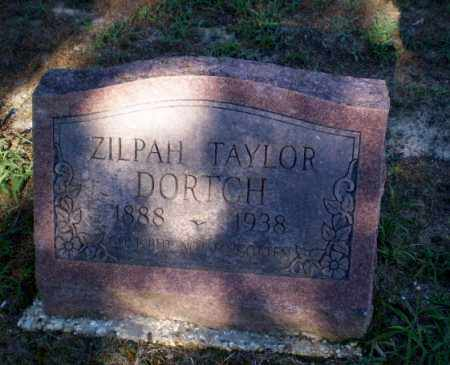 TAYLOR DORTCH, ZILPAH - Clay County, Arkansas | ZILPAH TAYLOR DORTCH - Arkansas Gravestone Photos