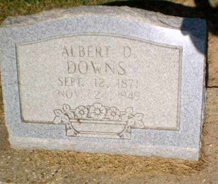 DOWNS, ALBERT D - Clay County, Arkansas | ALBERT D DOWNS - Arkansas Gravestone Photos