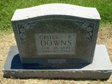 DOWNS, GROSS P - Clay County, Arkansas   GROSS P DOWNS - Arkansas Gravestone Photos
