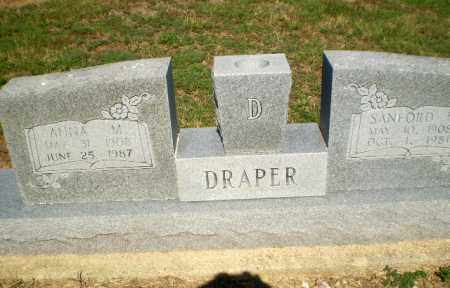 DRAPER, SANFORD - Clay County, Arkansas | SANFORD DRAPER - Arkansas Gravestone Photos