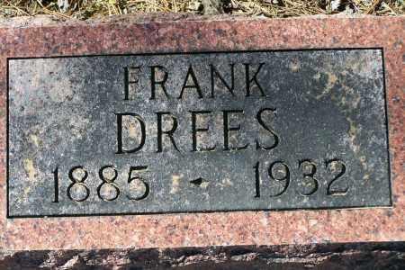DREES, FRANK - Clay County, Arkansas | FRANK DREES - Arkansas Gravestone Photos