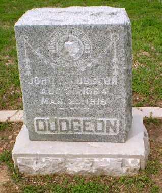 DUDGEON, JOHN - Clay County, Arkansas   JOHN DUDGEON - Arkansas Gravestone Photos