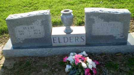 ELDERS, YULAS - Clay County, Arkansas | YULAS ELDERS - Arkansas Gravestone Photos