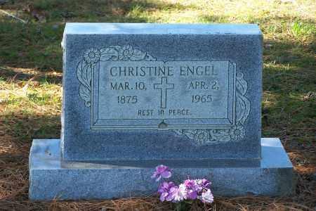ENGEL, CHRISTINE - Clay County, Arkansas | CHRISTINE ENGEL - Arkansas Gravestone Photos