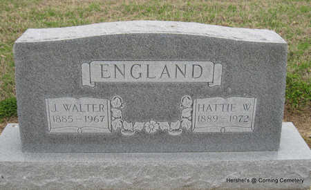 ENGLAND, JAMES WALTER - Clay County, Arkansas   JAMES WALTER ENGLAND - Arkansas Gravestone Photos