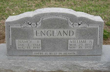 ENGLAND, NANCY J - Clay County, Arkansas | NANCY J ENGLAND - Arkansas Gravestone Photos