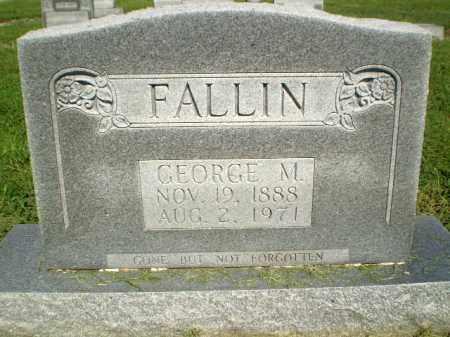 FALLIN, GEORGE M - Clay County, Arkansas   GEORGE M FALLIN - Arkansas Gravestone Photos