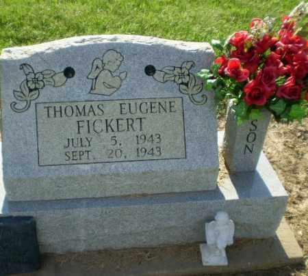FICKERT, THOMAS EUGENE - Clay County, Arkansas | THOMAS EUGENE FICKERT - Arkansas Gravestone Photos