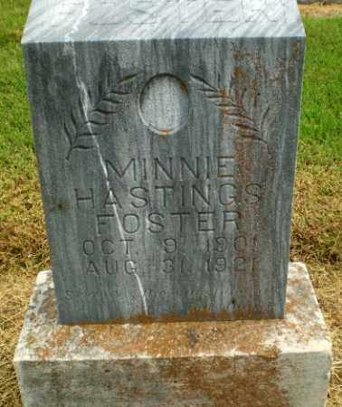 HASTINGS FOSTER, MINNIE - Clay County, Arkansas | MINNIE HASTINGS FOSTER - Arkansas Gravestone Photos