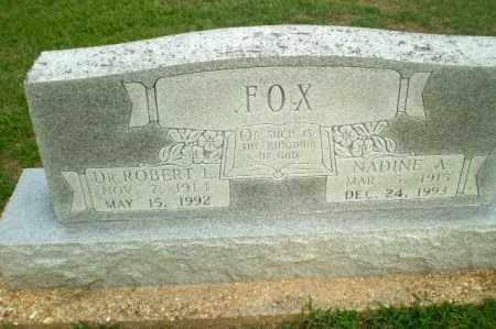 FOX, NADINE A - Clay County, Arkansas | NADINE A FOX - Arkansas Gravestone Photos