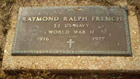 FRENCH  (VETERAN WWII), RAYMOND RALPH - Clay County, Arkansas | RAYMOND RALPH FRENCH  (VETERAN WWII) - Arkansas Gravestone Photos
