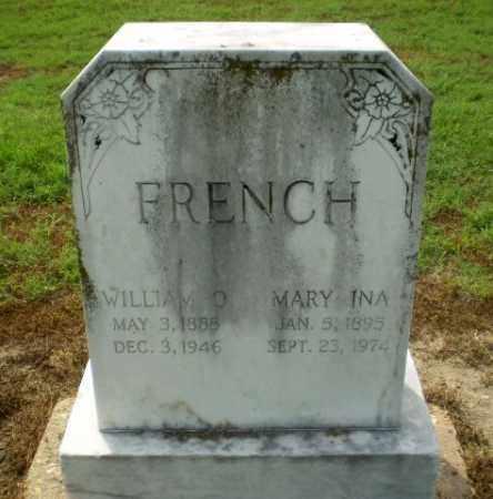 FRENCH, WILLIAM O - Clay County, Arkansas | WILLIAM O FRENCH - Arkansas Gravestone Photos
