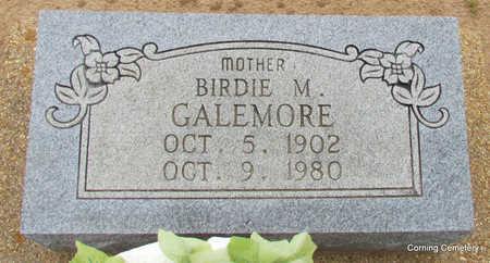GALEMORE, BIRDIE M - Clay County, Arkansas   BIRDIE M GALEMORE - Arkansas Gravestone Photos