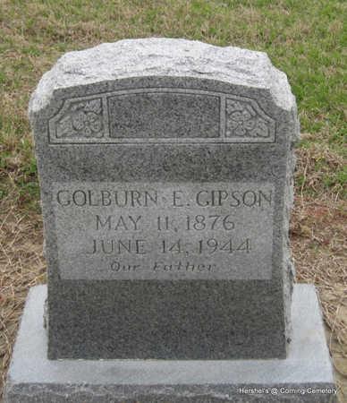 GIPSON, GOLBURN E - Clay County, Arkansas   GOLBURN E GIPSON - Arkansas Gravestone Photos
