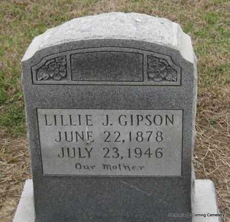 GIPSON, LILLIE J - Clay County, Arkansas | LILLIE J GIPSON - Arkansas Gravestone Photos