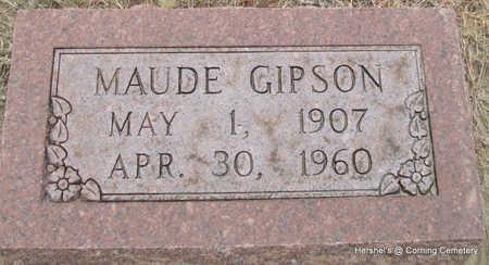 GIPSON, MAUDE - Clay County, Arkansas | MAUDE GIPSON - Arkansas Gravestone Photos