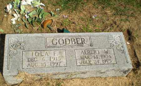 GODBER, IOLA F - Clay County, Arkansas | IOLA F GODBER - Arkansas Gravestone Photos