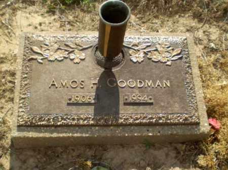 GOODMAN, AMOS H - Clay County, Arkansas | AMOS H GOODMAN - Arkansas Gravestone Photos