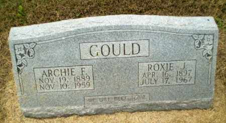 GOULD, ROXIE J - Clay County, Arkansas | ROXIE J GOULD - Arkansas Gravestone Photos