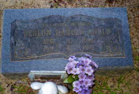 GOULD, BERLON HAROLD - Clay County, Arkansas | BERLON HAROLD GOULD - Arkansas Gravestone Photos