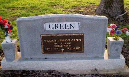 "GREEN  (VETERAN WWII), WILLIAM ""BUD"" VERNON - Clay County, Arkansas   WILLIAM ""BUD"" VERNON GREEN  (VETERAN WWII) - Arkansas Gravestone Photos"