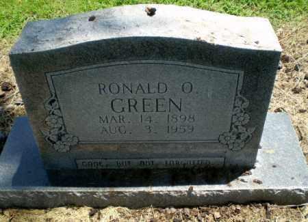 GREEN, RONALD O - Clay County, Arkansas | RONALD O GREEN - Arkansas Gravestone Photos
