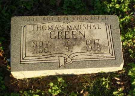GREEN, THOMAS MARSHALL - Clay County, Arkansas | THOMAS MARSHALL GREEN - Arkansas Gravestone Photos