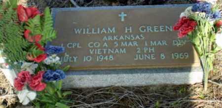 GREEN (VETERAN VIET, KIA), WILLIAM HERSCHEL - Clay County, Arkansas | WILLIAM HERSCHEL GREEN (VETERAN VIET, KIA) - Arkansas Gravestone Photos