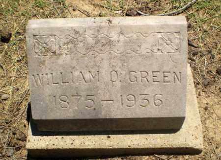 GREEN, WILLIAM O - Clay County, Arkansas | WILLIAM O GREEN - Arkansas Gravestone Photos