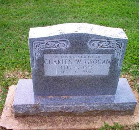 GROGAN, CHARLES W. - Clay County, Arkansas | CHARLES W. GROGAN - Arkansas Gravestone Photos