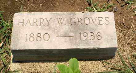 GROVES, HARRY W - Clay County, Arkansas | HARRY W GROVES - Arkansas Gravestone Photos