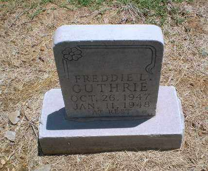 GUTHRIE, FREDDIE L - Clay County, Arkansas | FREDDIE L GUTHRIE - Arkansas Gravestone Photos