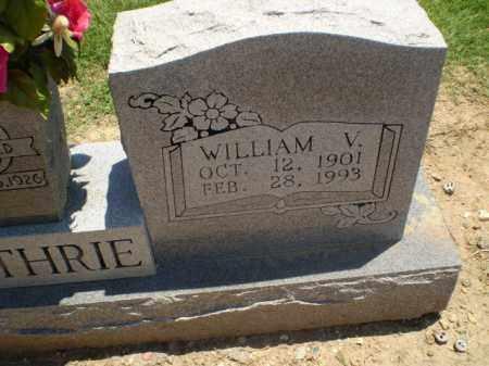 GUTHRIE, WILLIAM V - Clay County, Arkansas | WILLIAM V GUTHRIE - Arkansas Gravestone Photos
