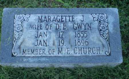 GWYN, MARAGETTE J - Clay County, Arkansas | MARAGETTE J GWYN - Arkansas Gravestone Photos