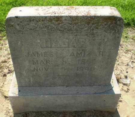 HAGAR, JAMES AMIZAR - Clay County, Arkansas | JAMES AMIZAR HAGAR - Arkansas Gravestone Photos
