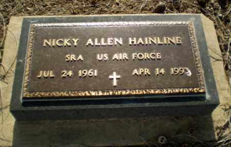 HAINLINE (VETERAN), NICKY - Clay County, Arkansas   NICKY HAINLINE (VETERAN) - Arkansas Gravestone Photos