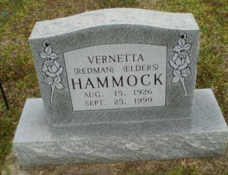REDMAN  ELDERS HAMMOCK, VERNETTA - Clay County, Arkansas | VERNETTA REDMAN  ELDERS HAMMOCK - Arkansas Gravestone Photos