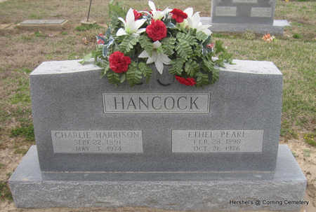 HANCOCK, CHARLIE HARRISON - Clay County, Arkansas | CHARLIE HARRISON HANCOCK - Arkansas Gravestone Photos