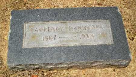HANDWORK, LAWRENCE - Clay County, Arkansas | LAWRENCE HANDWORK - Arkansas Gravestone Photos