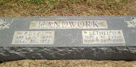 HANDWORK, ROY J - Clay County, Arkansas | ROY J HANDWORK - Arkansas Gravestone Photos
