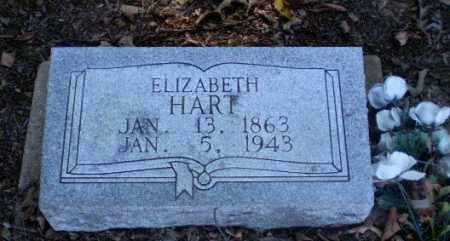 HART, ELIZABETH - Clay County, Arkansas | ELIZABETH HART - Arkansas Gravestone Photos