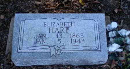 HART, ELIZABETH - Clay County, Arkansas | ELIZABETH HART - Arkansas Gravestone Photos